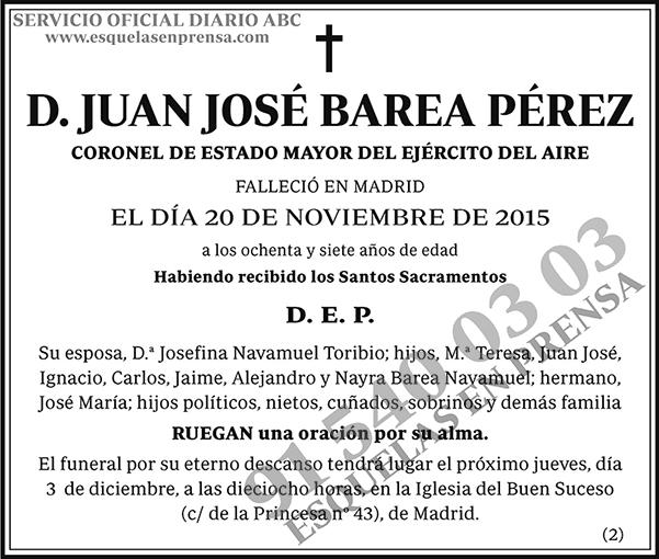 Juan José Barea Pérez